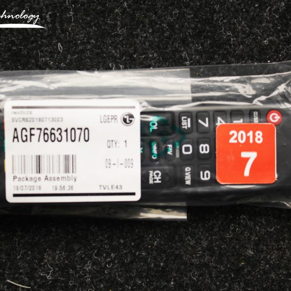 Control remoto LG AGF76631070