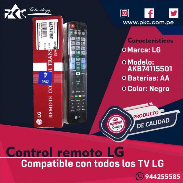 Control remoto LG AKB74115501