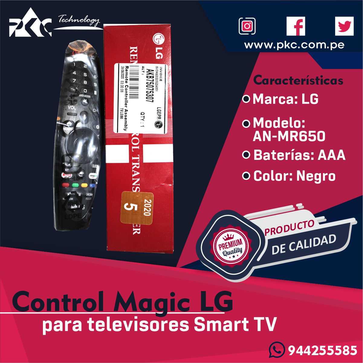 Control Magic AN-MR650A
